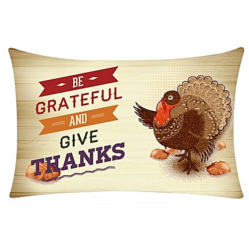 Fabulous Thanksgiving Rectangle Super Cashmere Pillow Cases Cushion Covers Gmtry Best Dining Table And Chair Ideas Images Gmtryco