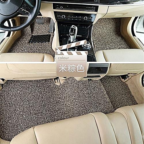 Generic Car Floor Mats Front Rear Liner Waterproof 3pcs Universal