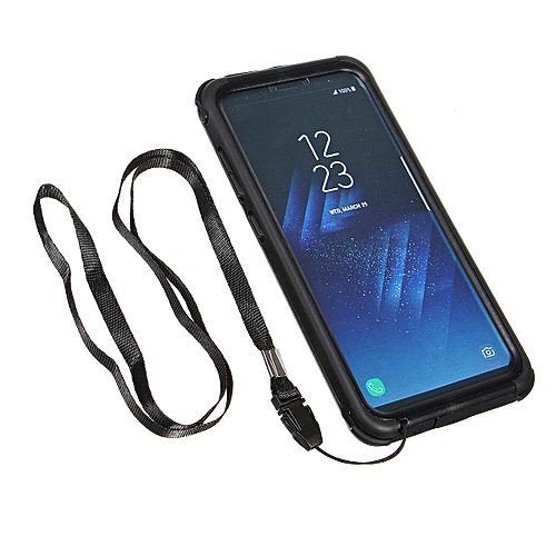 more photos bc5a2 2c6d7 Waterproof Diving Swimming Cover Shockproof Case For Samsung Galaxy S8 Plus  Black