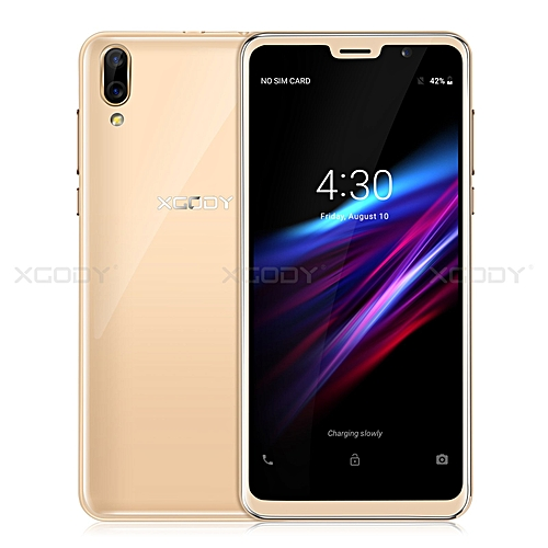 D26 New Dual SIM 4Core Android Mobile Phone un-locked Smartphone 8GB 5MP qHD -gold