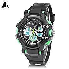Boys Sport Watch Chronograph Calendar Wristwatch - Green