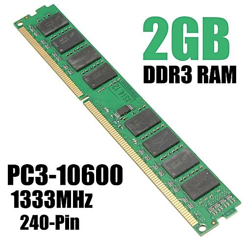 Buy Generic 2gb Ddr3 1333mhz Pc3 10600 240pin Dimm Desktop Memory