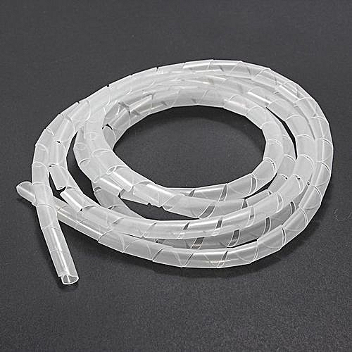 UNIVERSAL 10 Meters Spiral Tube Flexible Cord PC Home Cinema Cable ...