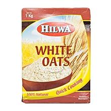 100% White Oats - 1kg