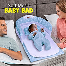 Portable Can Go Out To Carry A Crib In The Bed Multi-Function Foldable Baby Newborn Baby BB Bed with Lights and Music