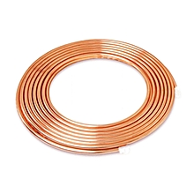 "5m 3/8"" Copper Coil Pipe Air Conditioner Tube Refrigeration R410a Pancake HVAC"