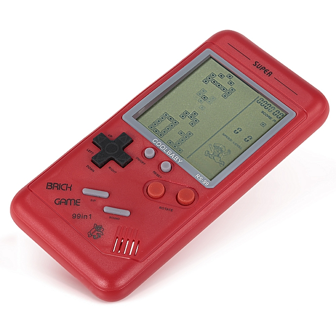 Pocket Handheld Game Console 22in LCD Mini Portable Brick Player