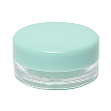Empty Jar Pot Cosmetic Face Cream Bottle Container Screw Lid Candy Color 3g New Ice (Green)