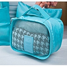 6PCS Waterproof Clothes Storage Bags Packing Cube Travel Luggage Organizer Pouch-MultiColor