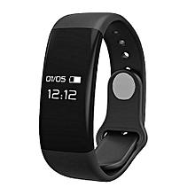 New Sports Smart Band H30 Smart Bracelet Smart Wristband Sports Fitness Tracker SmartBand Heart Rate Monitor - Black