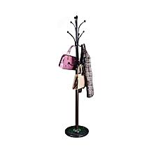14 Hooks Coat Hat Clothes Umbrella Stand Metal Steel Vintage Style Hanger Rack
