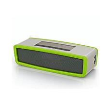 Speaker Travel Box Silicone Carry Case Bag for BOSE SoundLink Mini Bluetooth Speaker GN-green