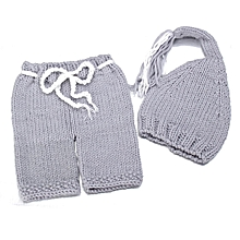 Newborn Clothes Crochet Knit Costume Baby Girls Boys Photo Photography Prop Outfits