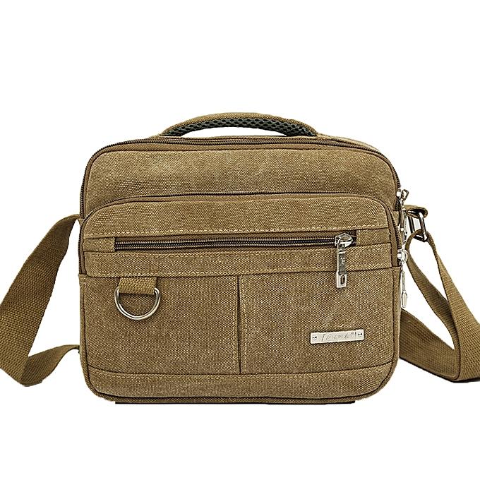 f32717a4c08e ... koaisd Men Canvas Bag Casual Travel Men s Crossbody Bag Men Messenger  Bags ...