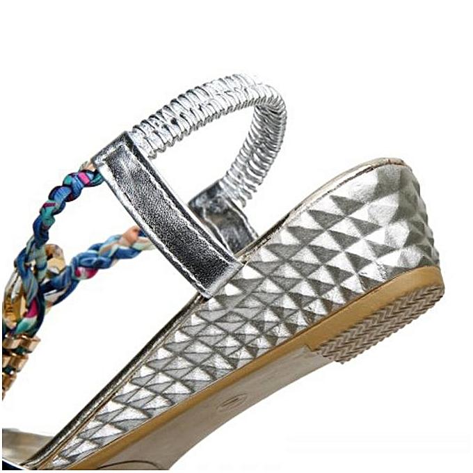 b610a09d24829 Xiuxingzi Summer Women Flat Sandals for Women Fashion Casual Sandals Beach  Shoes