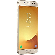 "Galaxy J7 Pro - 5.5"" - 64GB - 3GB RAM - 13MP Camera - Dual SIM - 4G LTE – Gold"