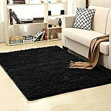 Fluffy Carpet - 5*8 - Black