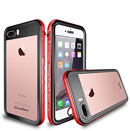 hot sale online 51010 7a39a Waterproof Case For for iphone 7 PlusIP68  Waterproof/Snowproof/Shockproof/Dirtproof, Fully Sealed Underwater  Protective Cover With Built-in Screen ...