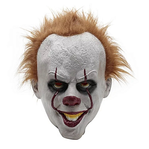 dec03106a Generic Halloween Scary Clown Mask Joker Costume Creepy Demon Horror  Cosplay Masks Decoration Props