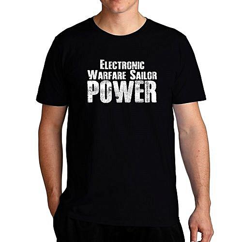 77eafd7b Fashion Electronic Warfare Sailor Power Cool Men T-Shirt @ Best Price  Online | Jumia Kenya