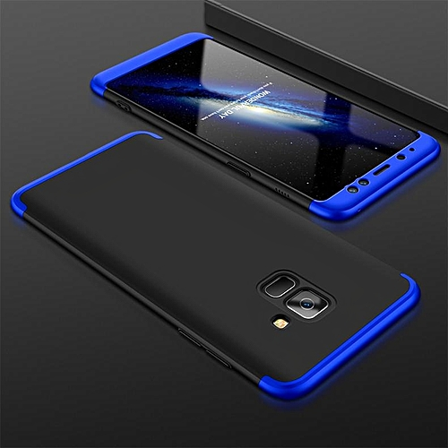 competitive price b9fbc 140ac Case For Galaxy A8 Plus 2018 Case,360 Degree Full Cover 3 In1 Combo Phone  Case For Samsung Galaxy A8 Plus /A8+ 2018/A730/A7 2018