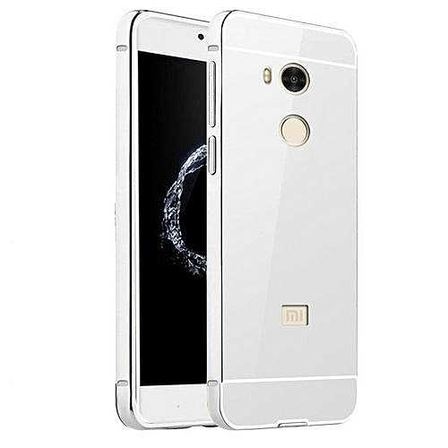 on sale 68f35 a53a4 Luxury Plating Mirror Case Aluminum Metal Metal + Acrylic Hard Back Cover  For Xiaomi Redmi 4 Pro / 4 Prime 32GB (Color:c2)