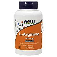 L-Arginine 500mg - 100 Capsules (Supplements)