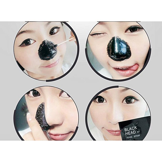 ... 10pcs Best Skin Care Blackhead Remover Black Mud Deep Cleansing Purifying Peel Acne Face Mask For ...