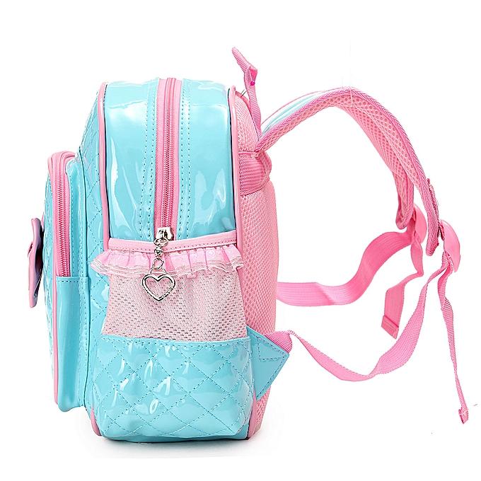 ... New Kids Children Girl Kindergarten Schoolbag Book Bag Toddle Backpack  Rucksack Blue ... 056546e6731f7