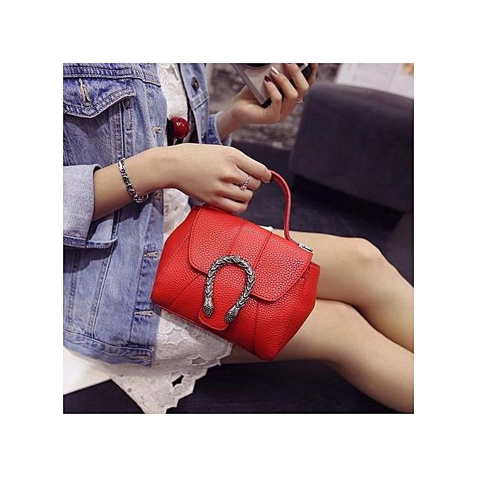 70027db8f75a ... bluerdream-Fashion Women New Summer Handbag Shoulder Bag Messenger Bag  Ladies Bag RD-Red ...