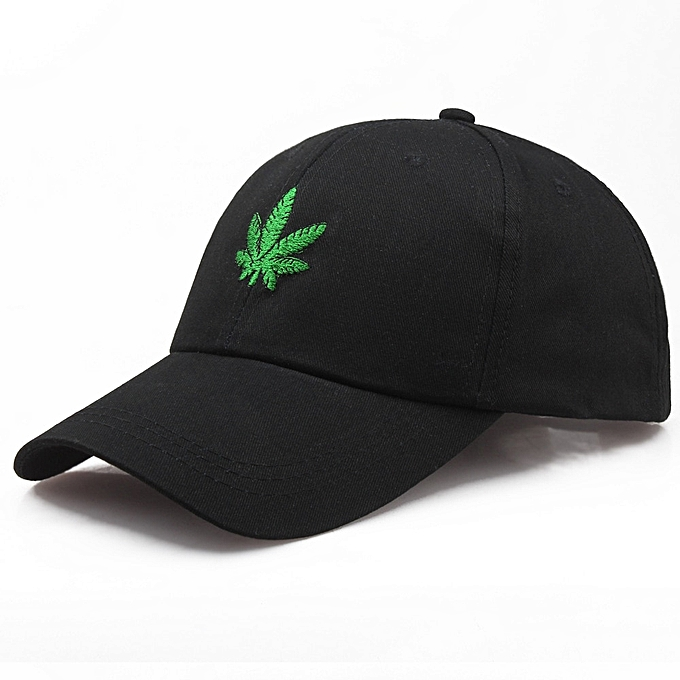 21f9d229 Embroidery Maple Leaf White Cap Weed Snapback 2019 New Fashion Hats For Men  Women Cotton Swag Hip Hop Fitted Baseball Caps