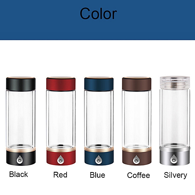 64018d2682 ... New SPE/ PEM Hydrogen Rich Generator Water Ionizer Bottle Seperate H2  and O2 High Pure