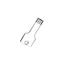 16G USB 2.0 Metal Key Shape Flash Memory Drive Disk