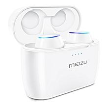 Wireless Bluetooth Earphones In-ear Earbuds Microphone - White