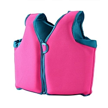 UJ Children Unisex Swimming Vest Kids Life Buoyancy Suit Auxiliary-rose Red