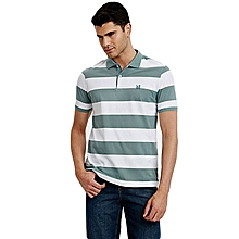 Green Fashionable Standard Short Sleeve T-Shirt