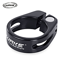 31.8MM MTB Bike Bicycle Aluminum Alloy Quick Release Seat Post Clamp Tube Clip - Black