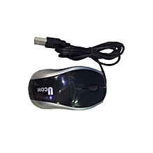 USB Optical Mouse - Black.