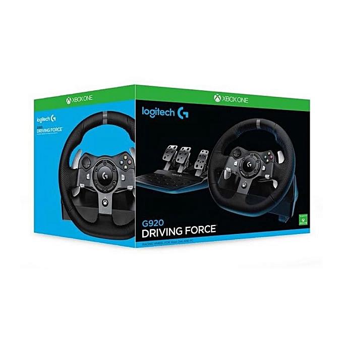 b53fda8d78e Logitech G920 Driving Force For Xbox One :Racing Wheel Black @ Best ...
