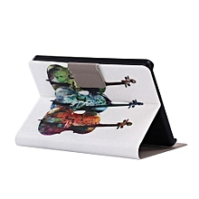 Folding Stand Painted Leather Case Cover For Amazon New Kindle E