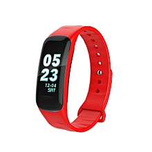 C62 0.96inch IPS Color Smart Watch Bracelet Heart Rate Monitor Bluetooth LE 4.0