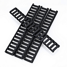 4pcs 18-Slot Picatinny Ladder Rail Panel Handguard Protector Resistant Cover