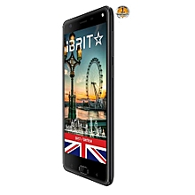 iBrit i7 - 5.5'' - 32GB - 3GB, Fingerprint ID Front,  8MP Camera - 4G Dual SIM - 4000mAh - Black..