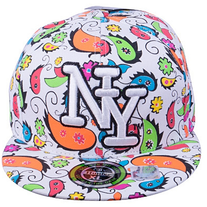 555c7bc7 Generic Unisex Youth Hip Hop Fashion Flat Brim