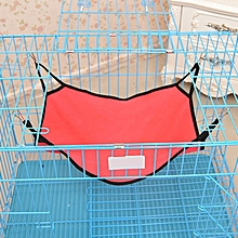 Pet Bed Cat Hanging Bed Cattery Mat Durable Kitten Cat Hammock Comfortable Soft Hanging Fleece Pet Cage Hammock Bed