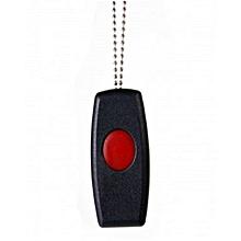 SHPTX1- 1 button pendant remote- Code Hopping 500m range- Black