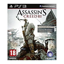 PS3 Game Assassin's Creed 3