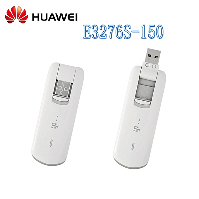 Huawei E3276s-150 150Mbps 4G LTE USB Modem WCDMA Dongle Mobile Broadband  Data Card +2pcs antenna