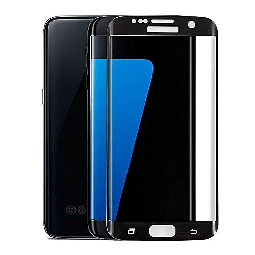 Clear Tempered Glass Screen Protector Full Cover Film For Samsung Galaxy S6 Edge 155309 Color-