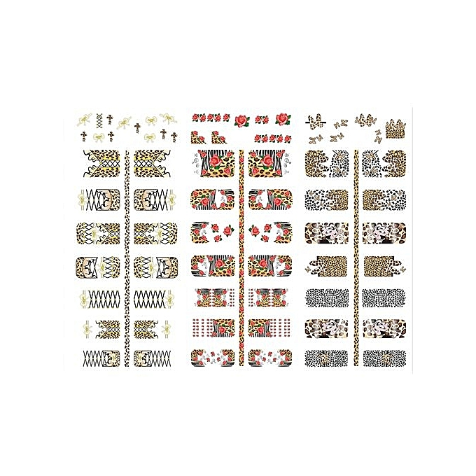 Buy Generic Tanson Hot Sale Japanese Style Watermark Nail Stickers ...